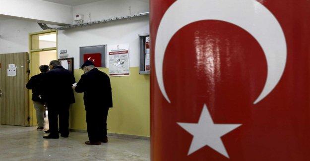 Setback for Erdogan's maktparti in the local elections