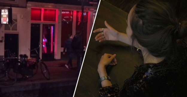 Sex workers angry at gidsverbod along the Ramparts: 'Velvet' tells why