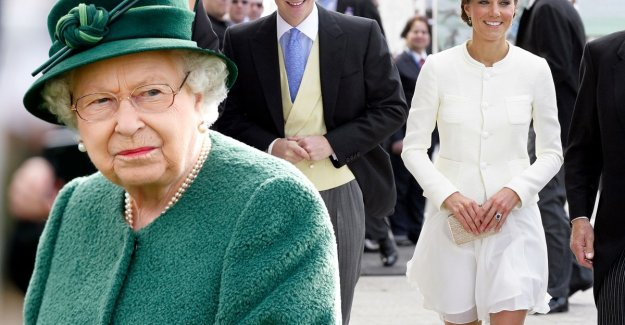 Shame to wear short skirts: British Queen tap Kate Middleton on the fingers