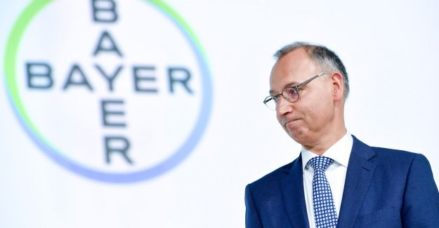 Shareholders Bayer say trust in ceo on