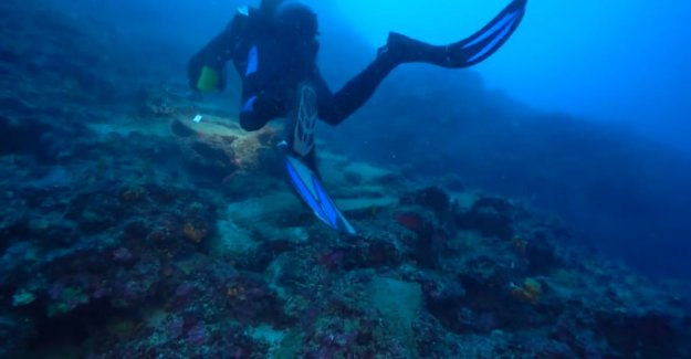 Shipwreck of 3,600 years old was found on the Turkish seabed