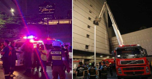 Skyscraper on fire in Bangkok – people kill
