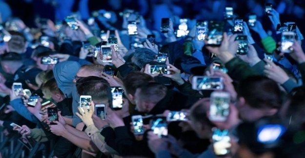 Smartphones have in the future dozens of cameras?
