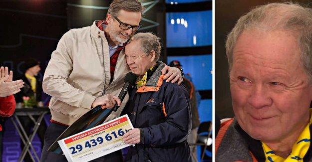 Sören, 72, were involved in car accident – since he won 29 million