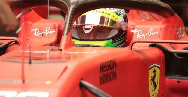 Spine-tingling Moment : Mick Schumacher testing formula 1 Ferrari