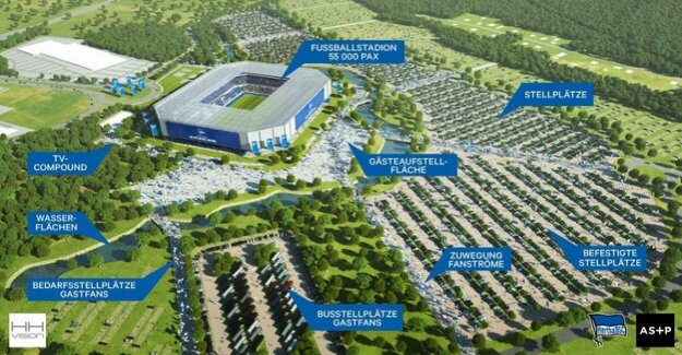 Stadium for Hertha BSC : New Arena at the Tegel airport as the most logical Option?
