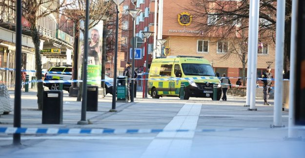 Storbråk at the train station – one was seriously hurt