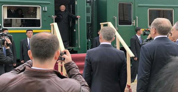 Summit with Putin: Kim arrived in Russia
