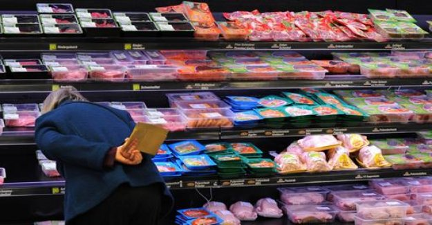 Super markets are characterised by livestock farming on meat packaging