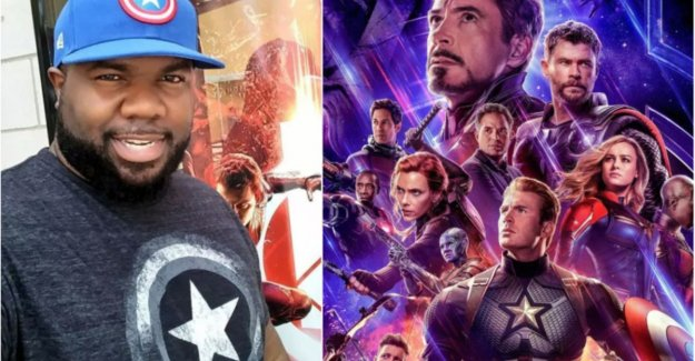 Superfan if 'Avengers: Endgame'-set visit after he 103 times to the previous film went to see in the cinema