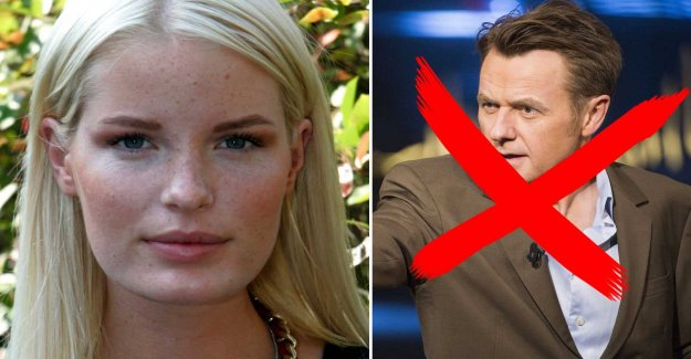 Supermodel reject Skavlan – after the cheeky question