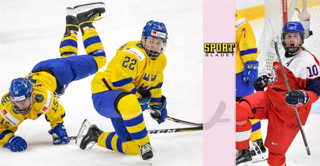 Sweden badly out – fell against the Czech republic