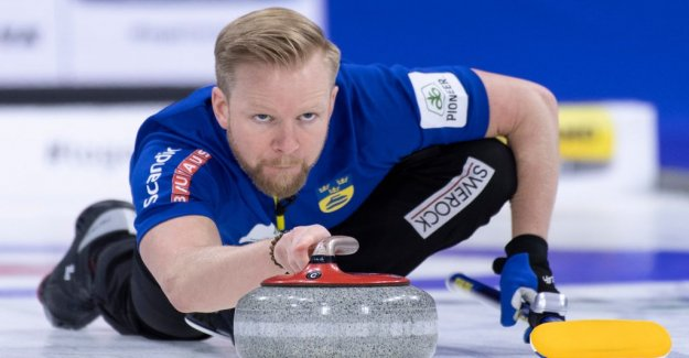 Sweden in the new world CUP final in curling