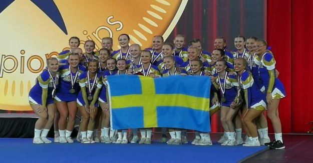 Sweden is aiming for more medals in the cheerleading world CHAMPIONSHIPS