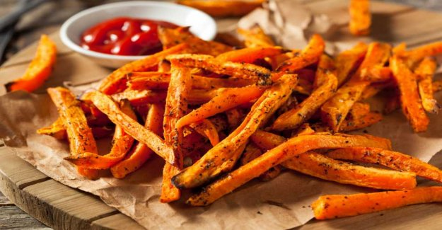 Sweet potatoes-French fries – crunchy good