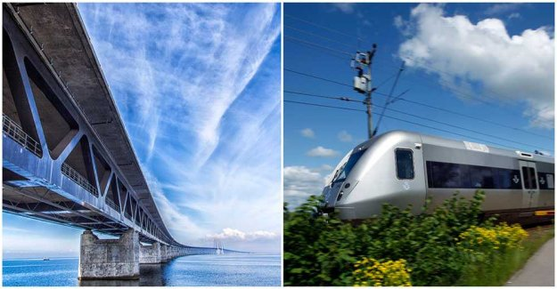 Take the express train to Copenhagen throughout the summer