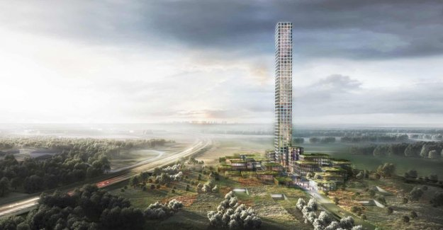Tallest skyscraper in Western Europe will rise in country village