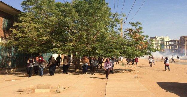 Task: Protests in Sudan, the biggest so far
