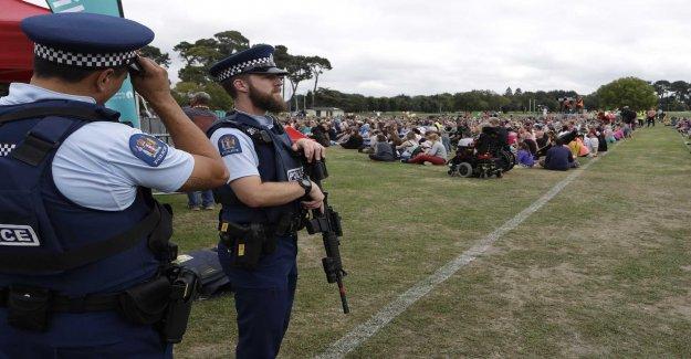 Terrorhotnivån lowered in New Zealand