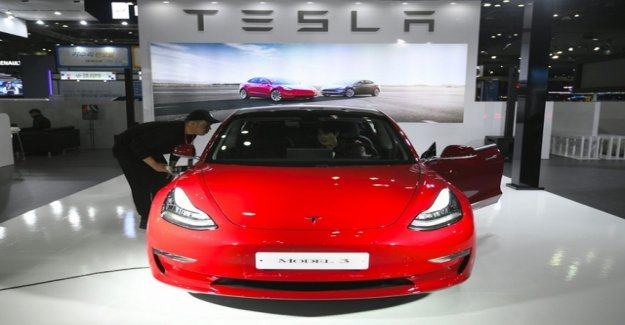 Tesla slips deep into the red