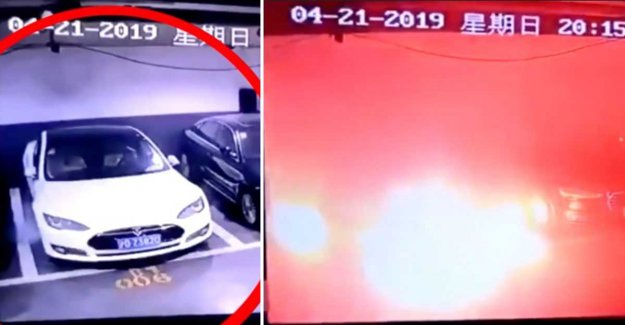 Tesla to investigate a car that exploded in China