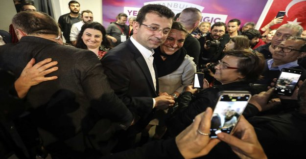 The AKP is challenging the election result in the Istanbul