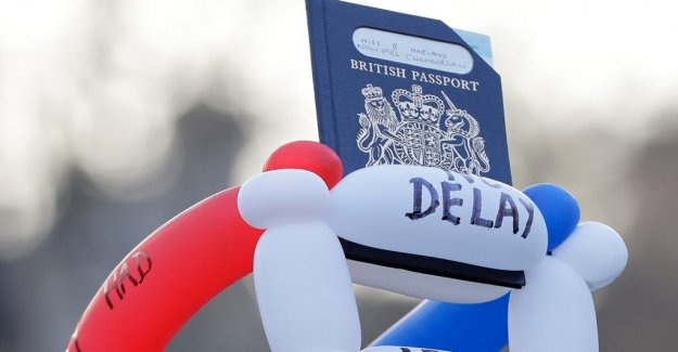 The EU removed from the british passport