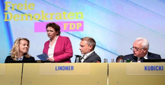 The Federal Congress of the FDP voting against women's quota