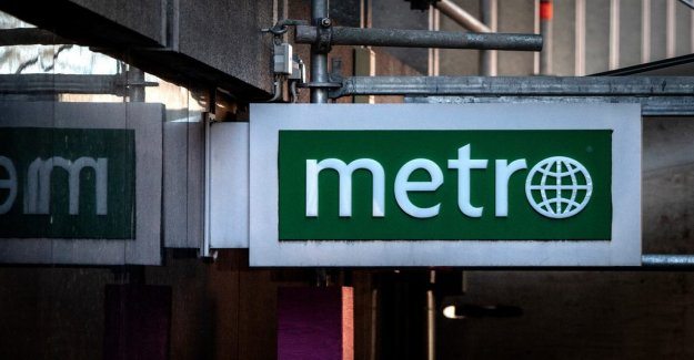 The Swedish tax agency determines the Metro's fate