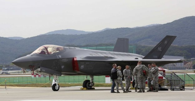 The US stops the delivery to the Turkish fighter jet