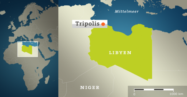 The air attacks on Tripoli