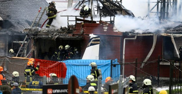 The aircraft crashed in a villa in Chile – six dead