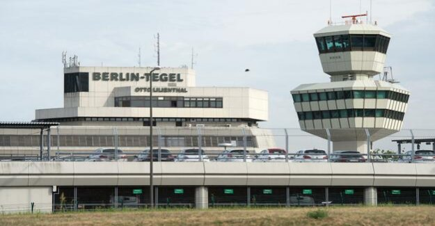 The airport in Berlin : Tegel is now a monument