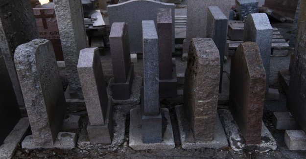 The cemeteries will be emptied when many are abandoning the tombstones