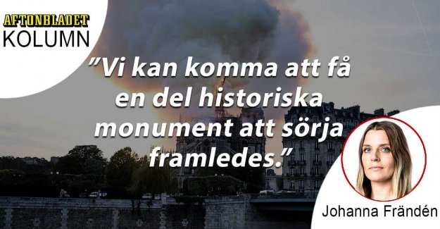 The fire in the Notre-Dame was nobody's fault – next time it may be our