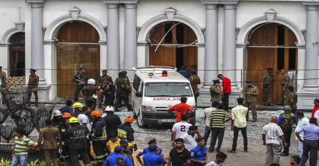 The government of Sri Lanka: Terror was revenge for Christchurch