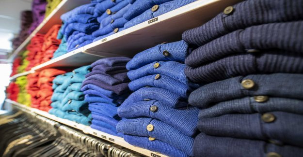 The government wants to have kemikalieskatt on clothes