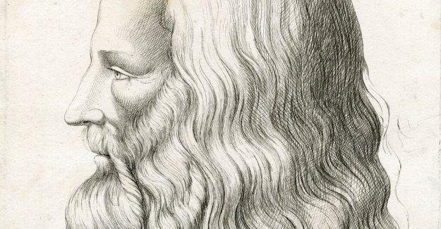 The hair can solve the riddle of Leonardo da Vinci
