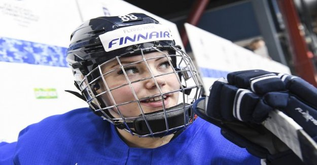The lady lions ' star gives back – drifted to the words war the Swedish ice hockey association boss: Then he should play in another league