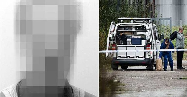 The murderer arrested after two days on the run