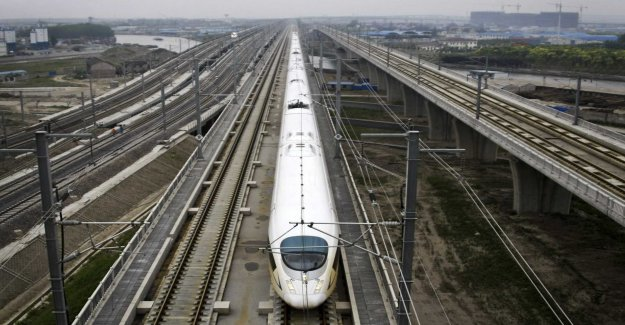 The national audit office examines the high-speed railway