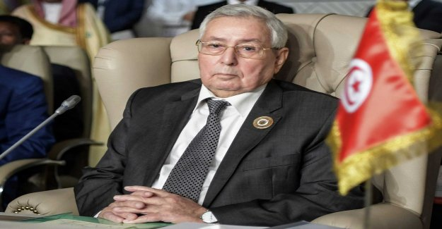 The new president, appointed in troubled Algeria