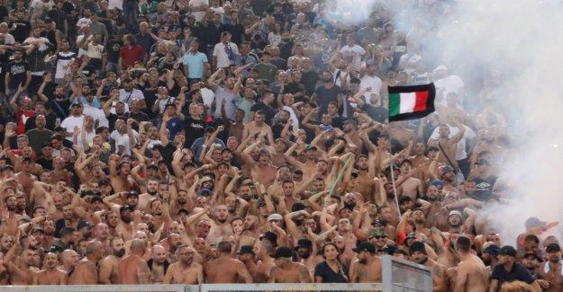The next Unsäglichkeit the Lazio Ultras