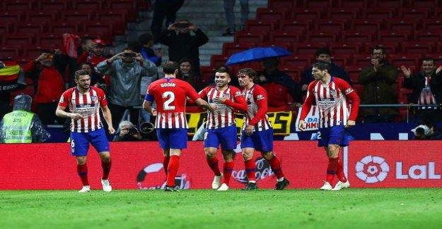 The party can wait! Atletico Madrid delayed barcelona's championship party