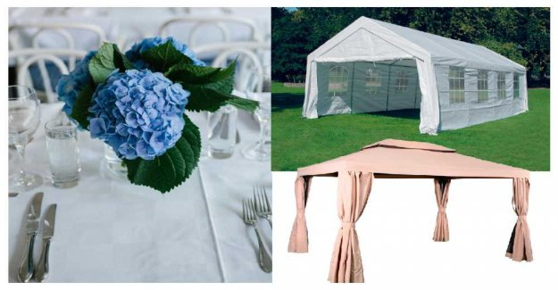 The party tent or pavilion – here is the best tips
