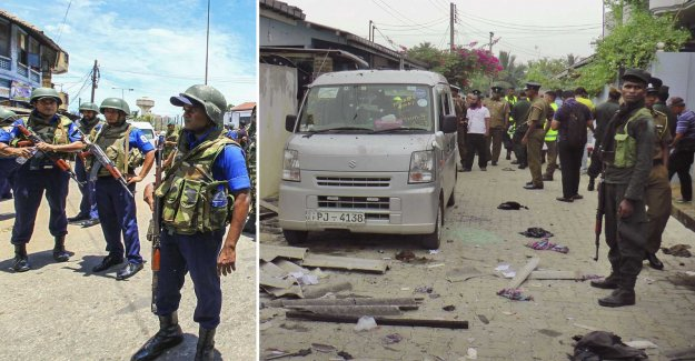 The police made arrests – the suspects, the men blew themselves up