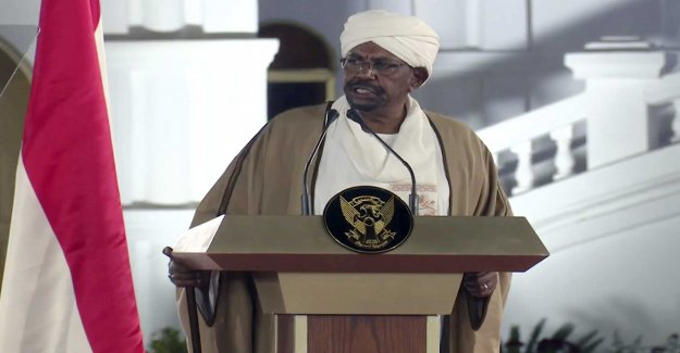 The president of the republic of the Sudan depart