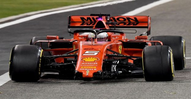 The reason behind Sebastian vettel's canards separation was confirmed, a spark was in a special situation
