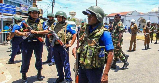 The shootings at the bombfabrik in Sri Lanka