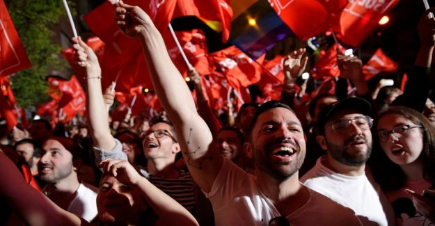 The socialists, the largest in the Spanish elections – right-wing Vox takes place in the parliament